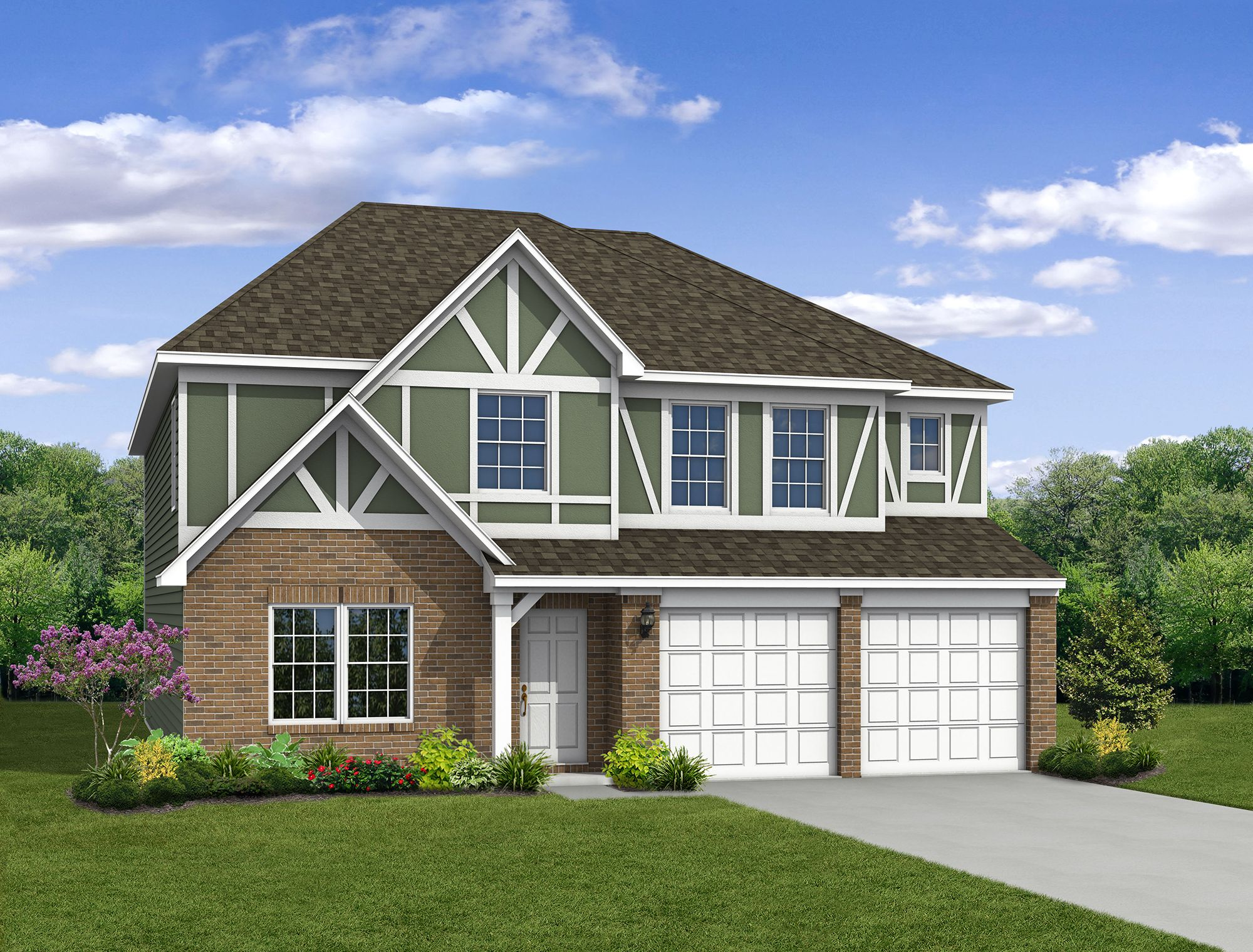 Exterior featured in The Cooper By Arbor Homes, LLC in Indianapolis, IN
