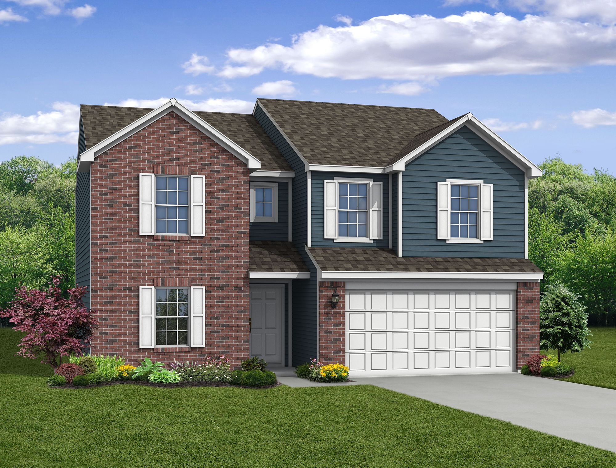 Exterior featured in The Spruce By Arbor Homes, LLC in Kokomo, IN