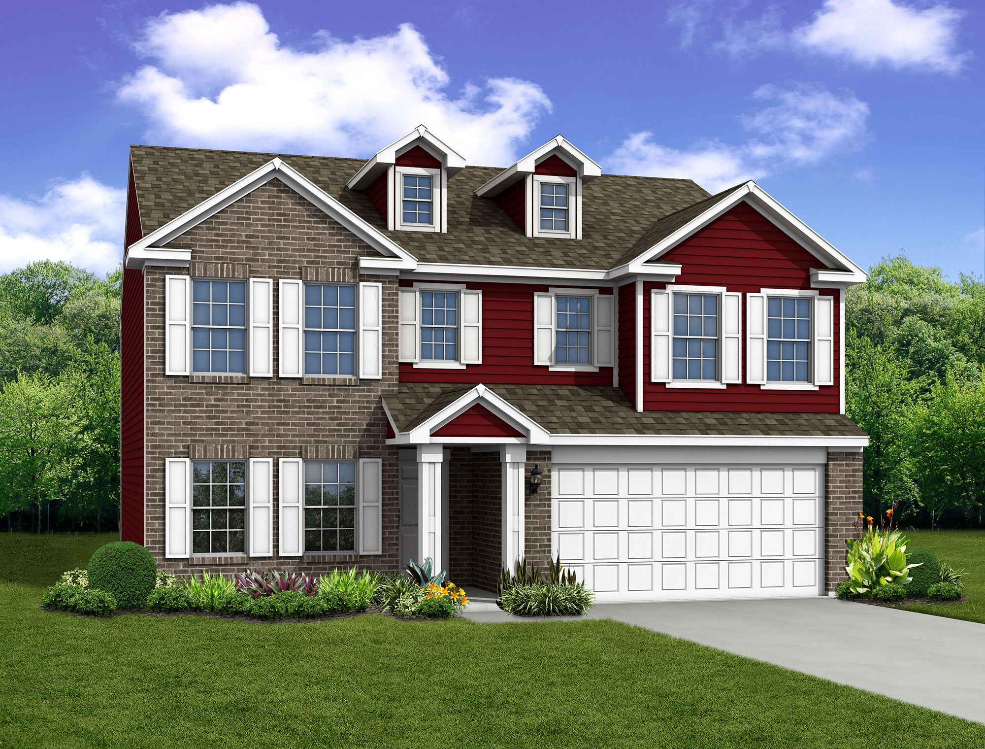 Exterior featured in The Spruce By Arbor Homes, LLC in Louisville, KY