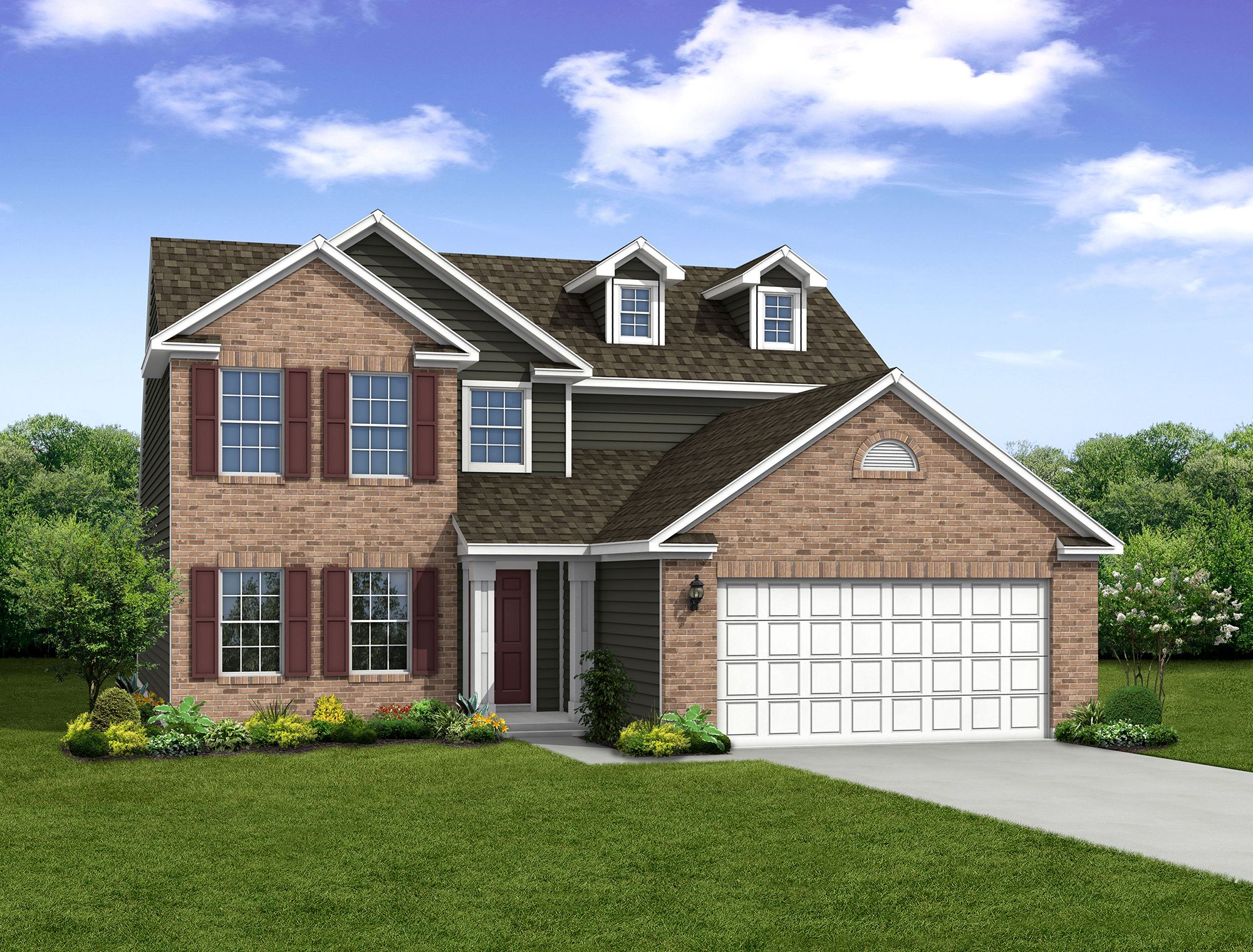 Exterior featured in The Cottonwood By Arbor Homes, LLC in Kokomo, IN