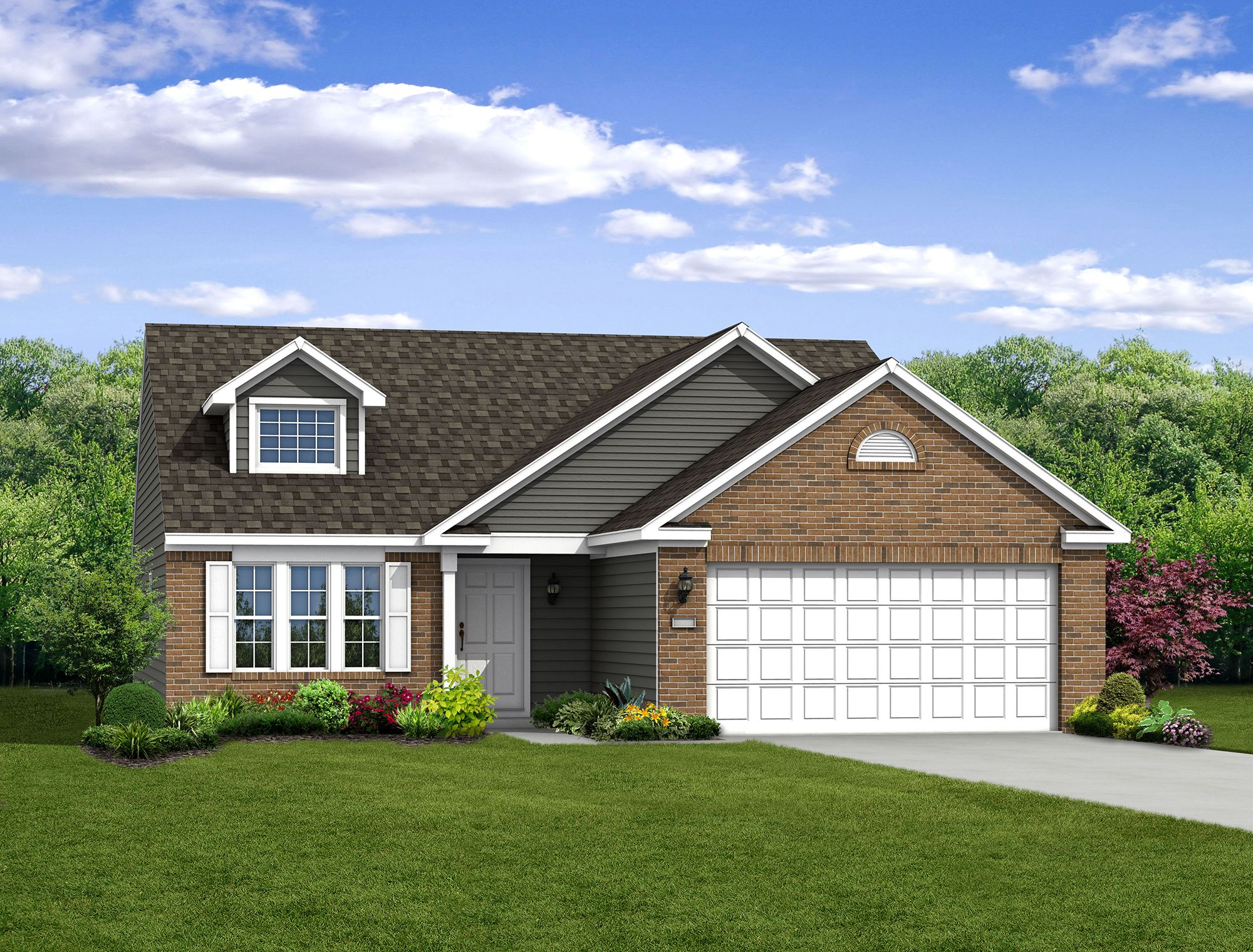 Exterior featured in The Bradford By Arbor Homes, LLC in Indianapolis, IN
