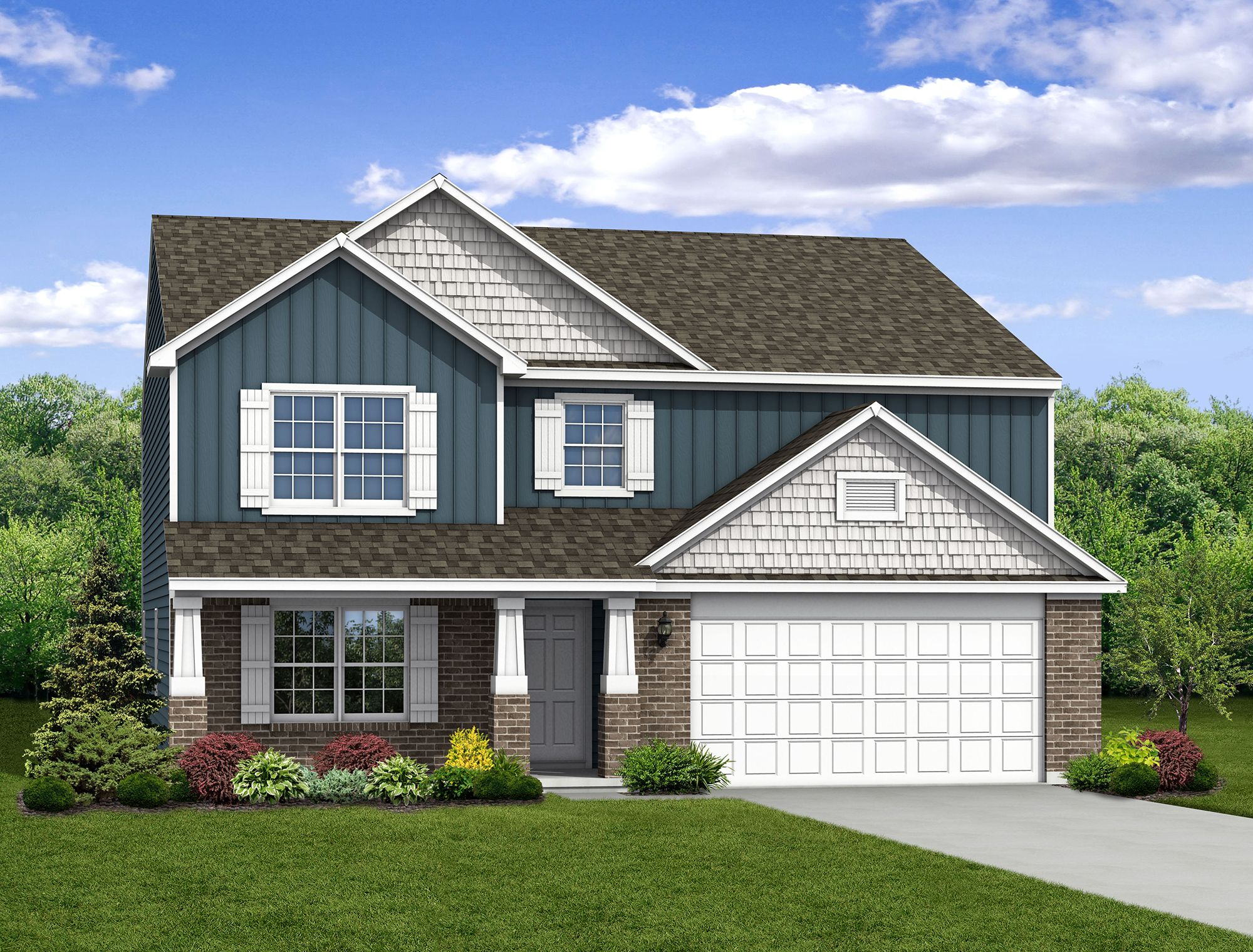 Exterior featured in The Empress By Arbor Homes, LLC in Kokomo, IN