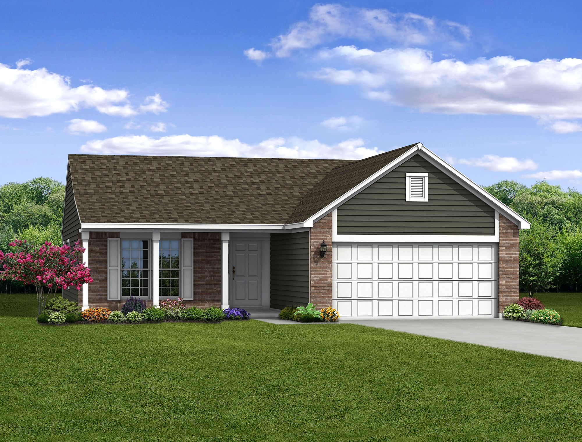 Exterior featured in The Ashton By Arbor Homes, LLC in Kokomo, IN