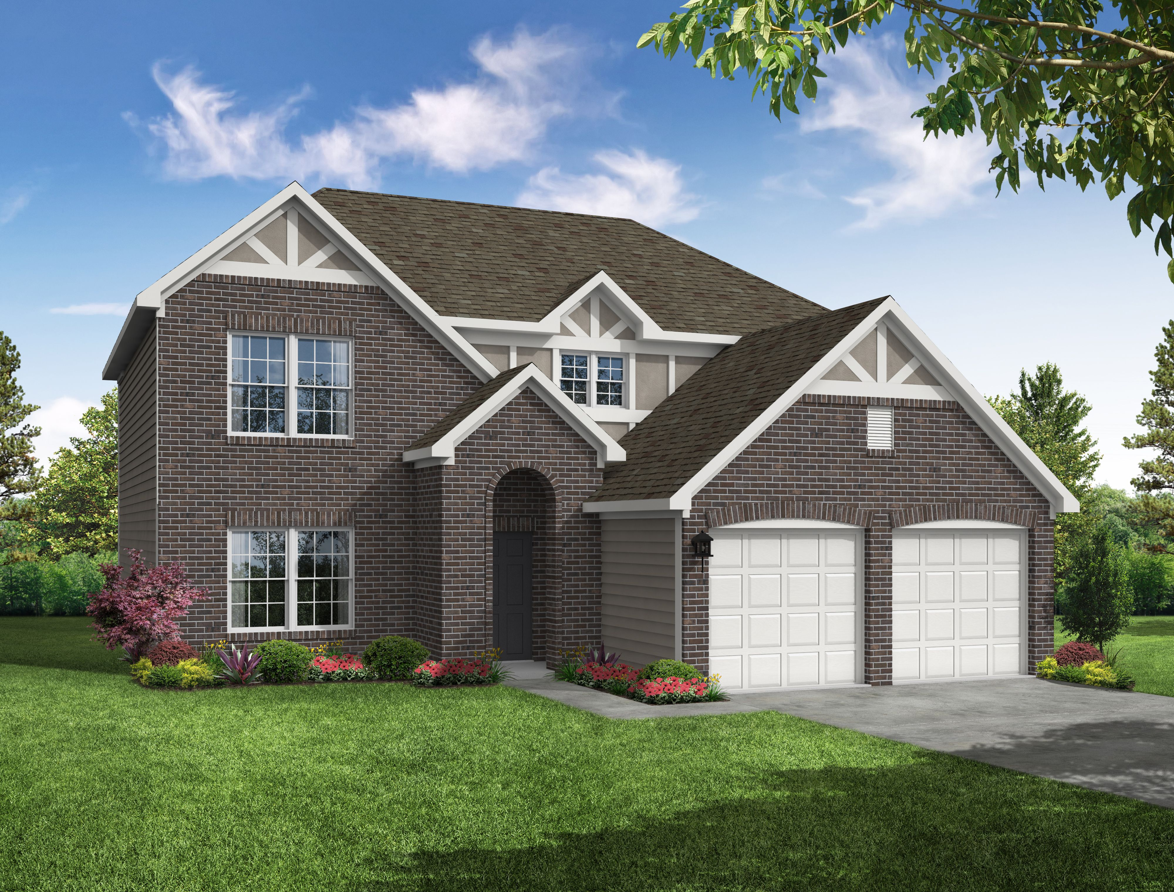 Exterior featured in The Mulberry By Arbor Homes, LLC in Kokomo, IN