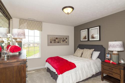 Bedroom-in-Norway-at-The Preserve at Arbor Pines-in-Fishers
