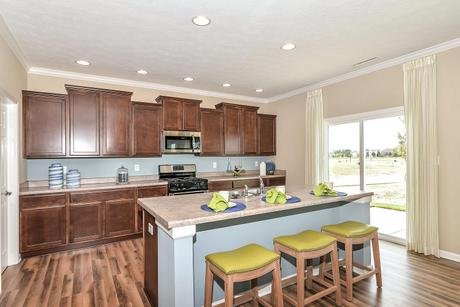 Kitchen-in-Cooper-at-Parks at Wynne Farms-in-Avon