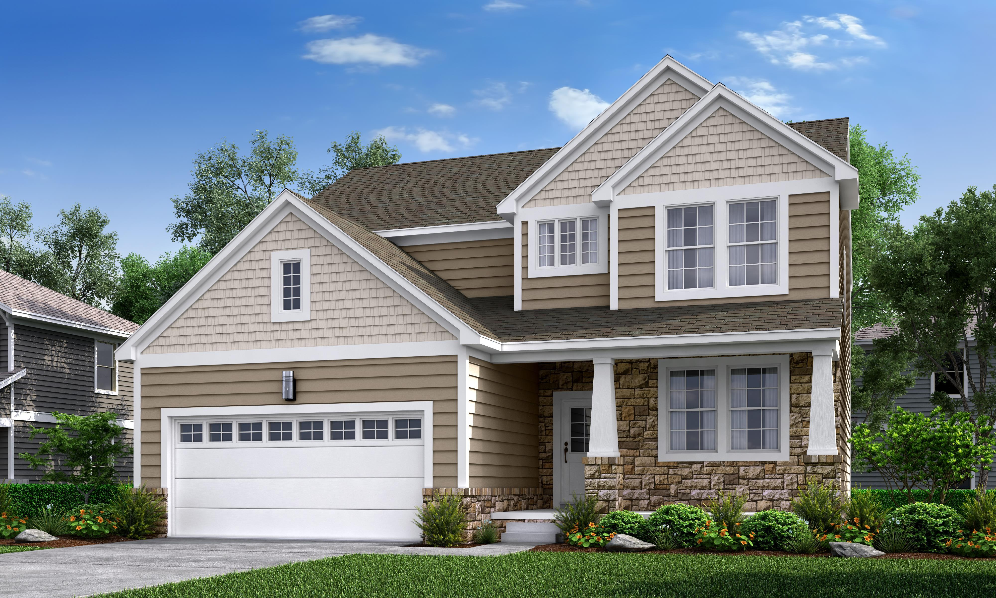 Exterior featured in The Grand Maple By Arbor Farms Communities, LLC in Ann Arbor, MI