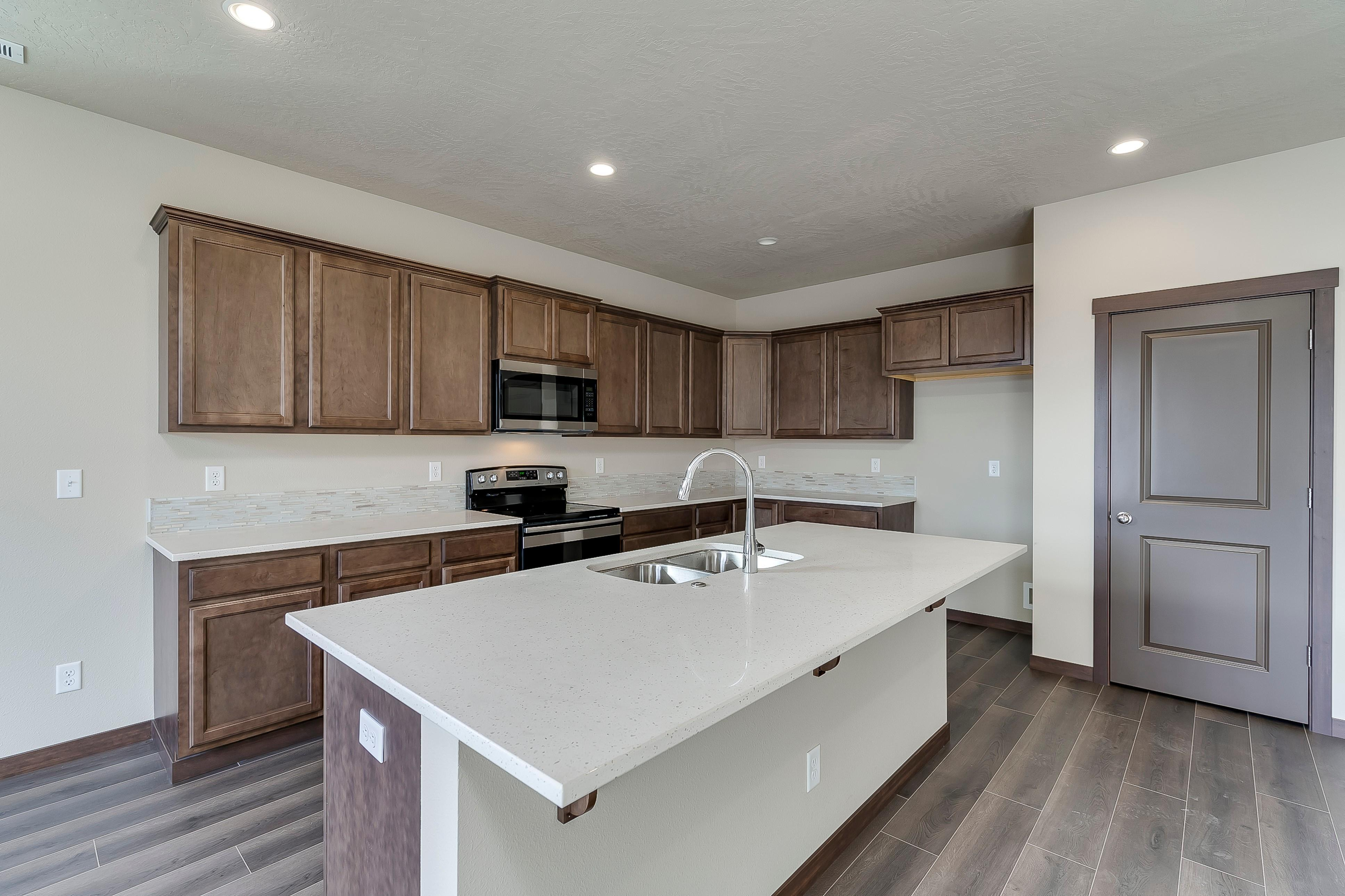 Kitchen featured in the Caribou - Prairie By Painted Rock Homes in Spokane-Couer d Alene, ID