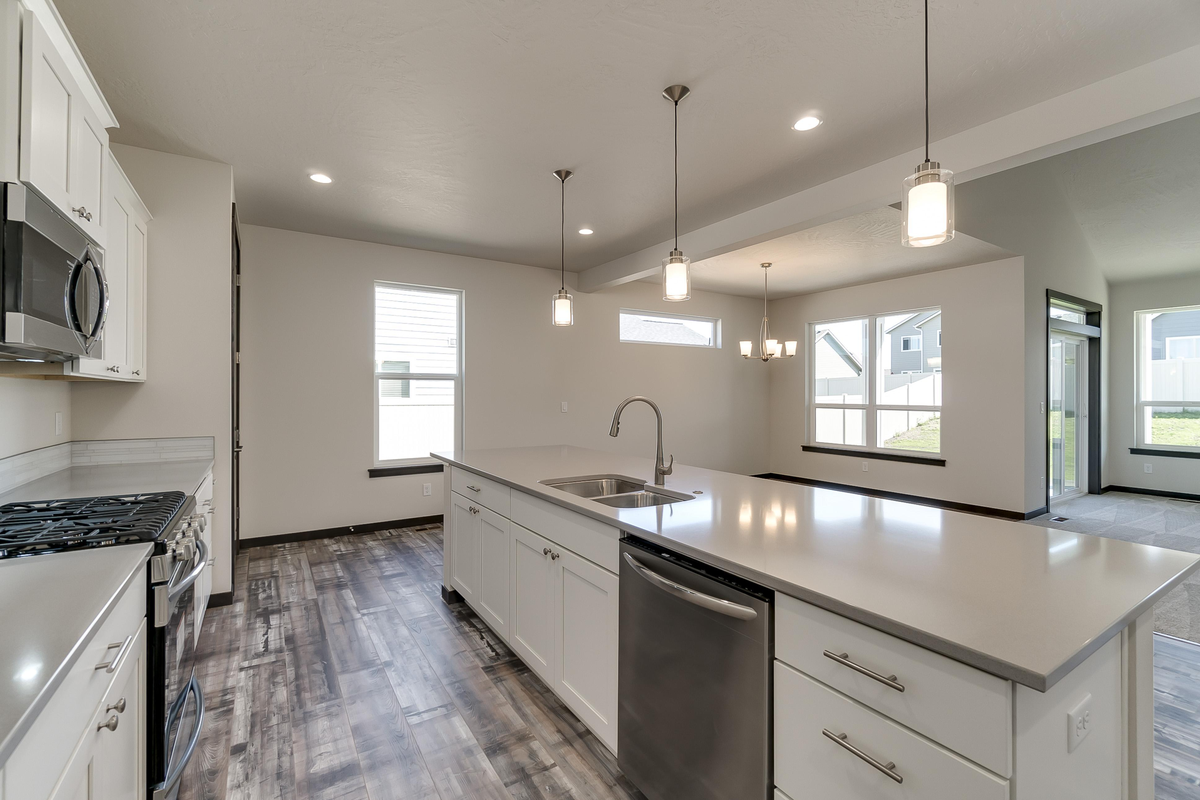 Kitchen featured in The Selway By Architerra Homes in Spokane-Couer d Alene, ID