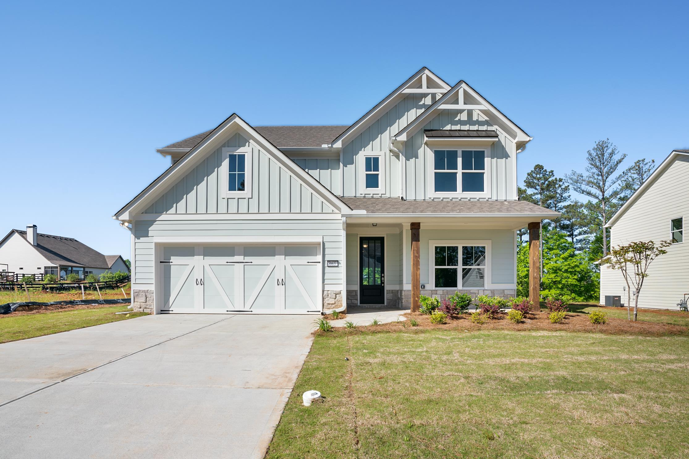 Exterior featured in the Hartwell (Farmhouse Series) By Artisan Built Communities in Atlanta, GA