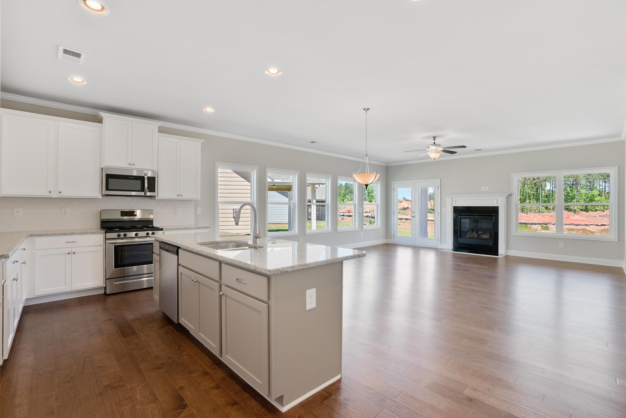 Kitchen featured in the Brookhaven (Active Adult) By Artisan Built Communities in Atlanta, GA