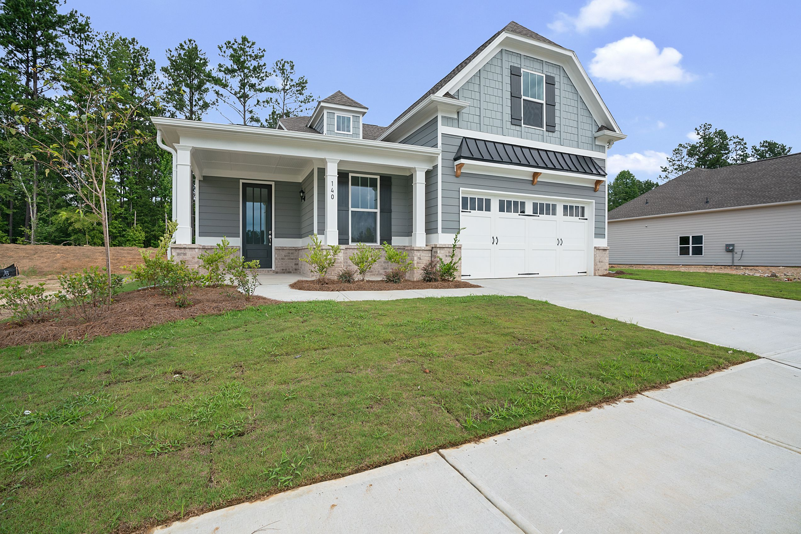 Exterior featured in the Braselton (Active Adult) By Artisan Built Communities in Atlanta, GA