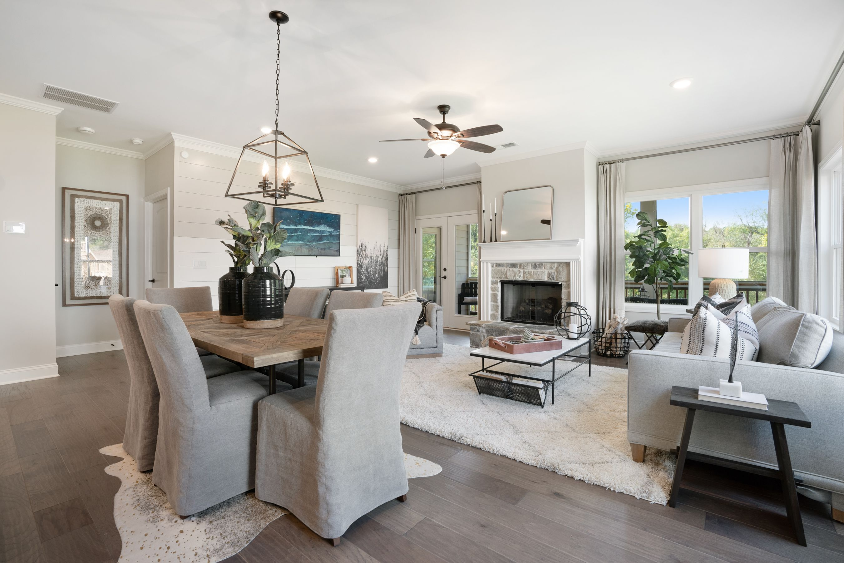 Living Area featured in the Rabun (Active Adult) By Artisan Built Communities in Atlanta, GA