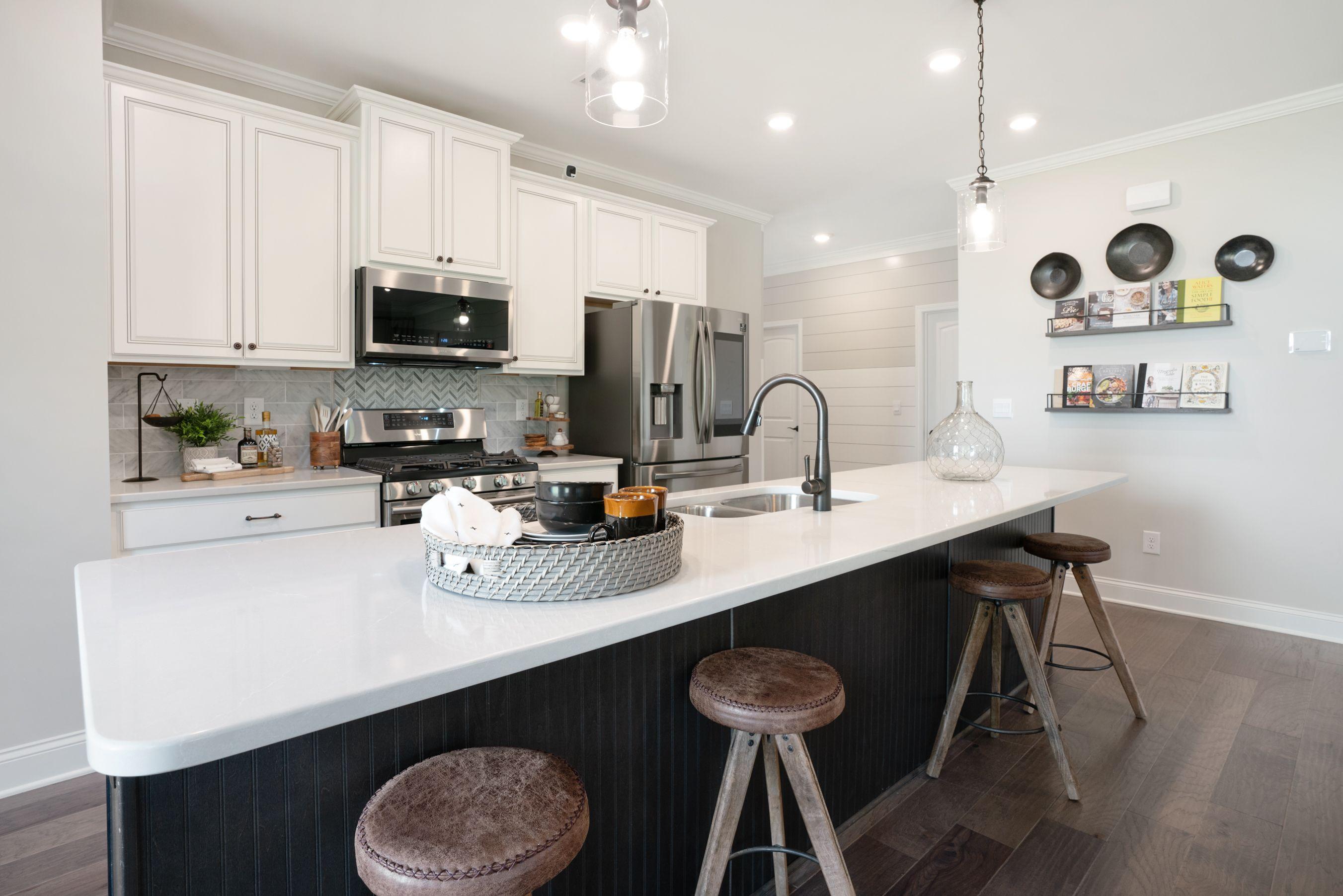 Kitchen featured in the Rabun (Active Adult) By Artisan Built Communities in Atlanta, GA