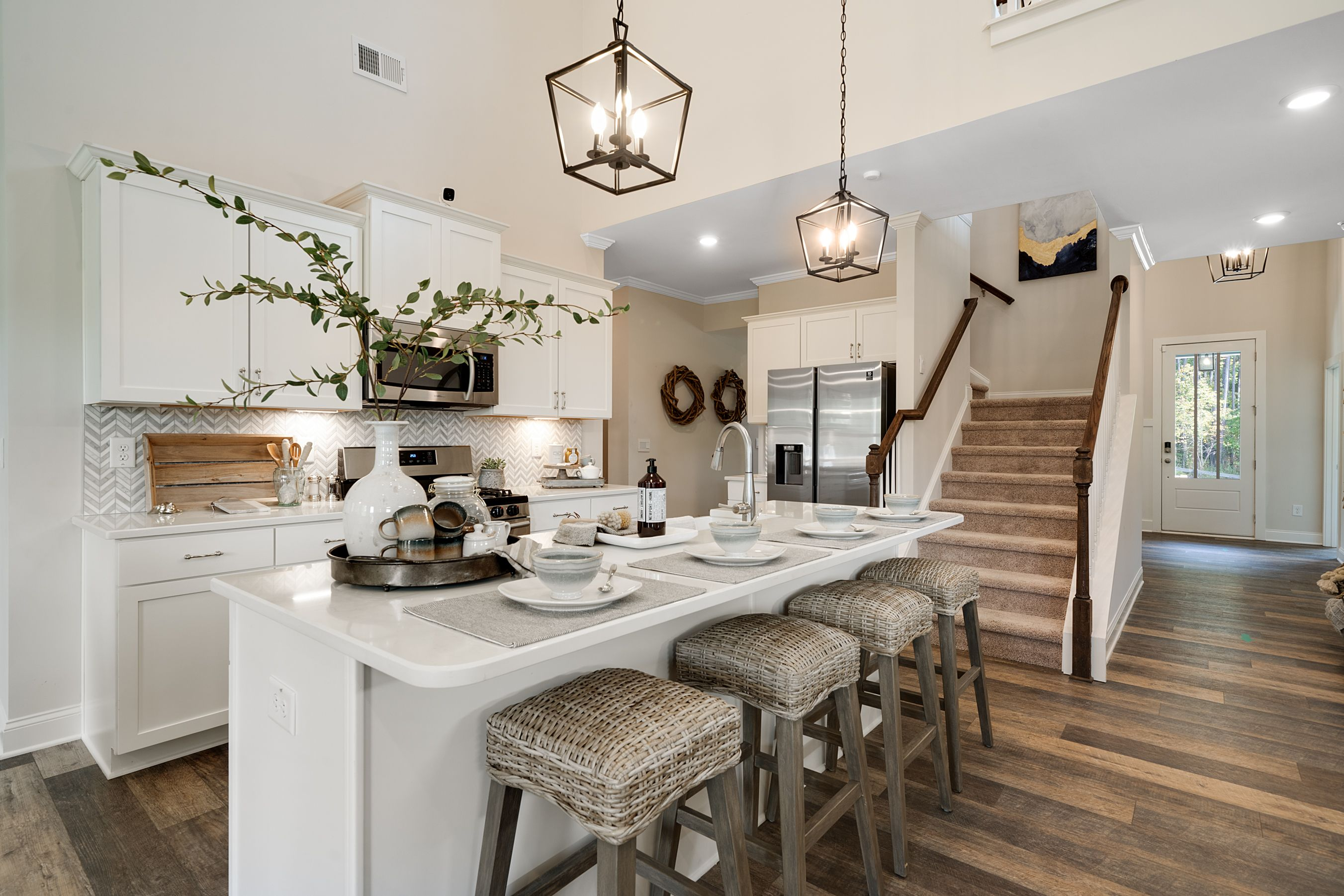 Kitchen featured in the Dalton (Farmhouse Series) By Artisan Built Communities in Atlanta, GA