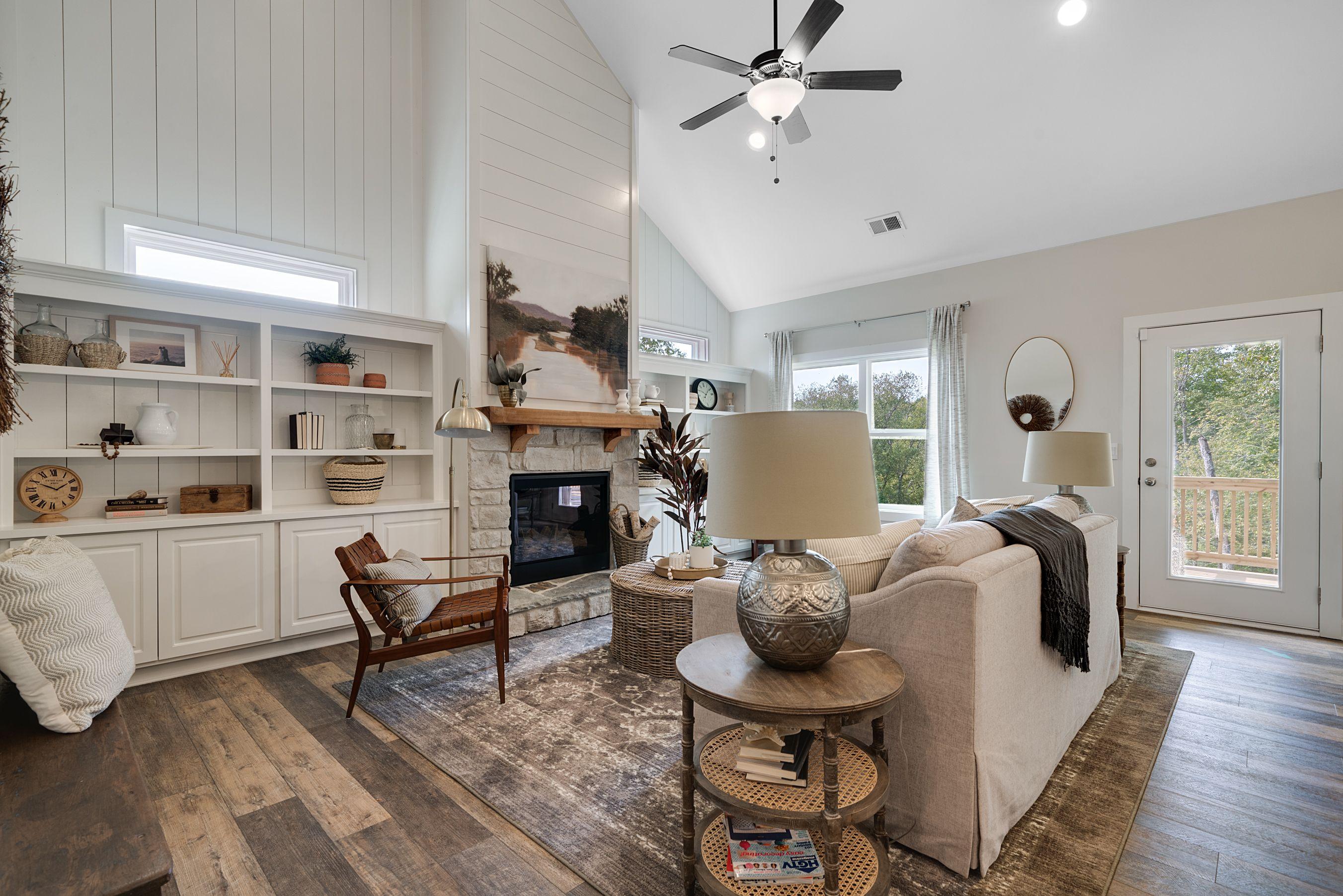 Living Area featured in the Dalton (Farmhouse Series) By Artisan Built Communities in Atlanta, GA