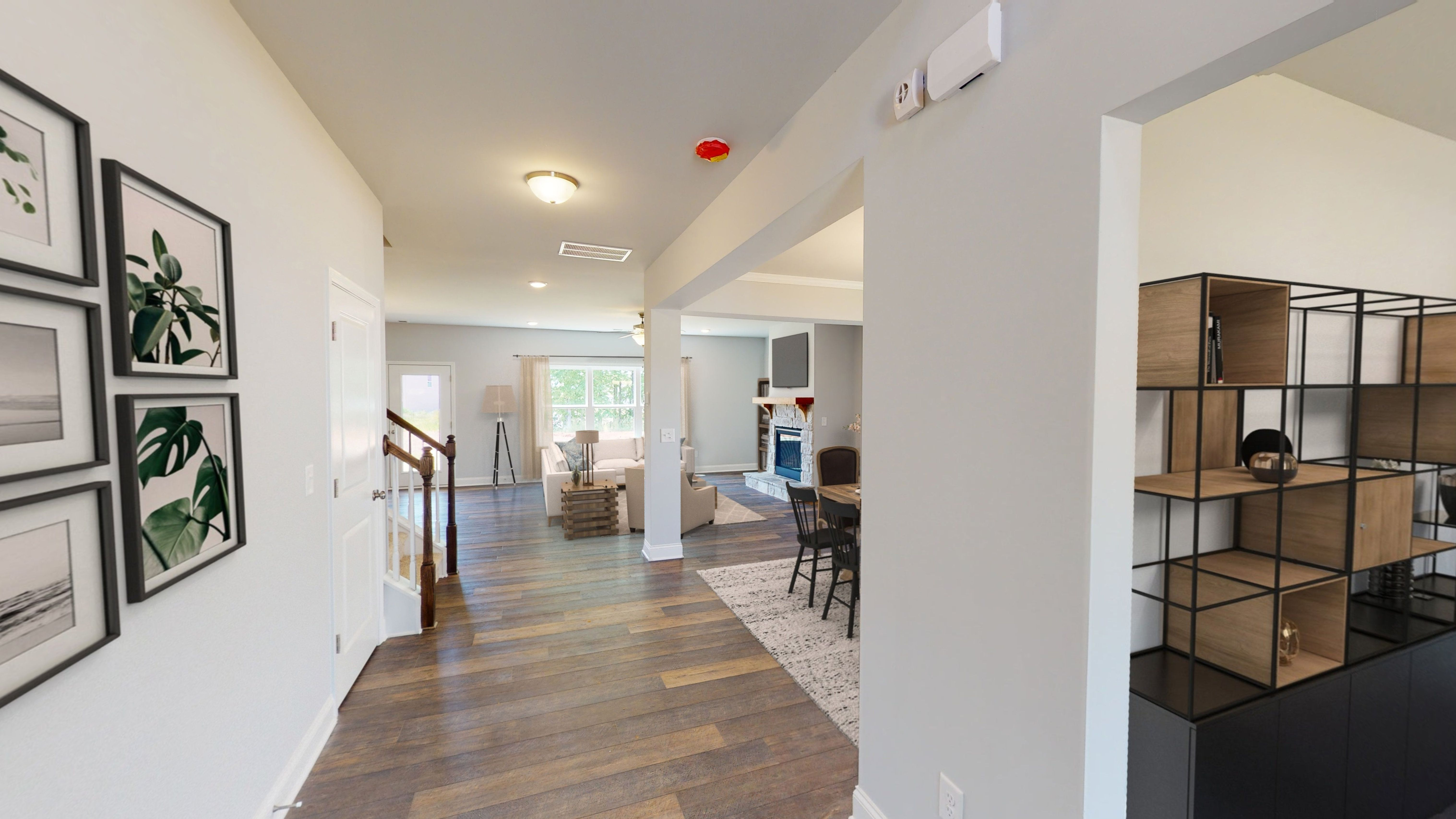 Living Area featured in the Hartwell (Farmhouse Series) By Artisan Built Communities in Atlanta, GA