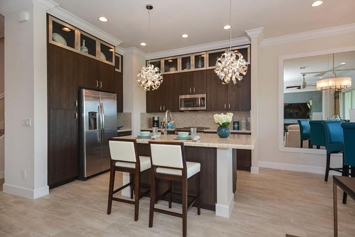 Kitchen featured in the ECHO By Ascend Properties  in Palm Beach County, FL