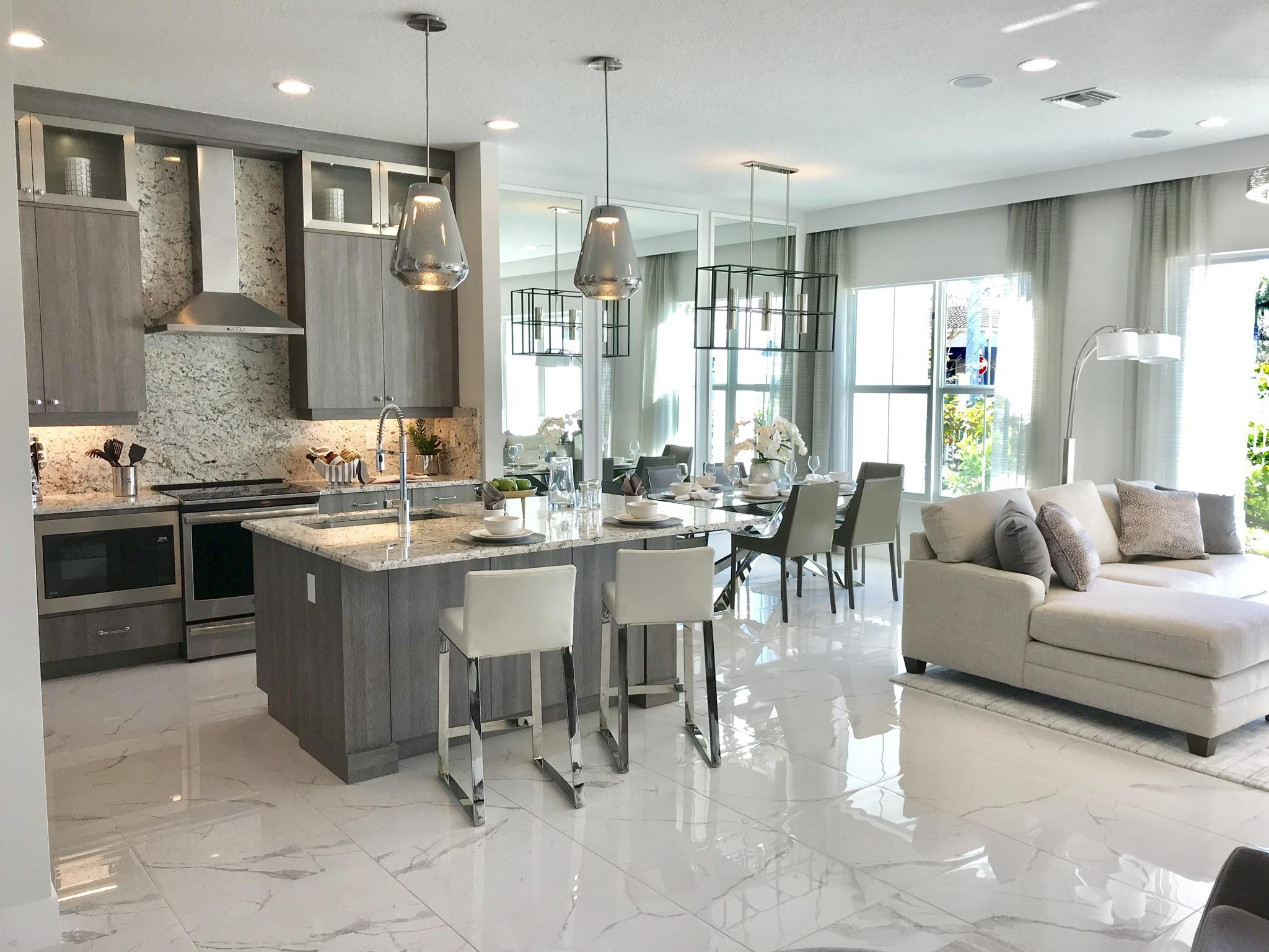 Living Area featured in the ECHO By Ascend Properties  in Palm Beach County, FL