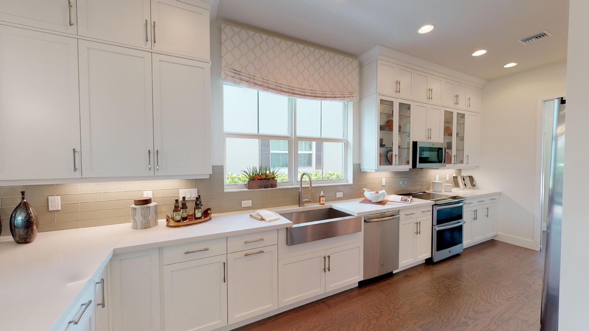 Kitchen featured in the WAVE By Ascend Properties  in Palm Beach County, FL