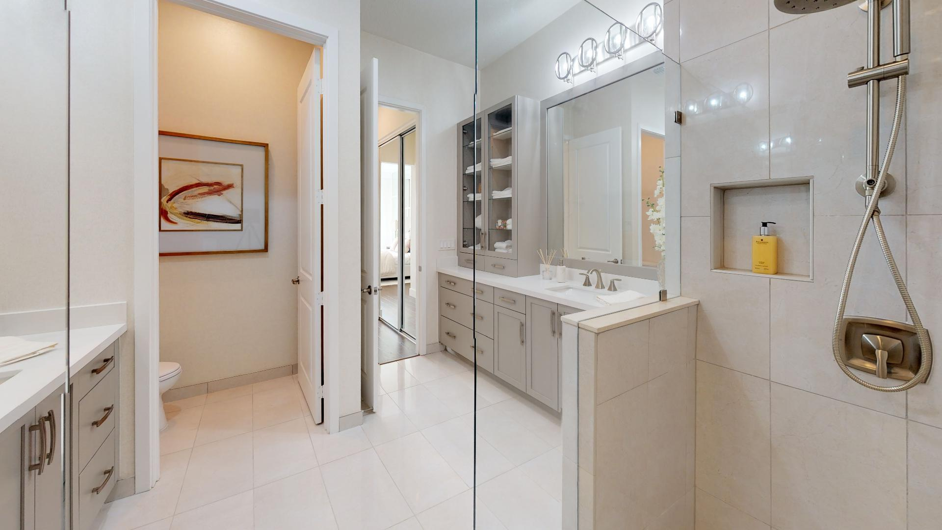 Bathroom featured in the WAVE By Ascend Properties  in Palm Beach County, FL