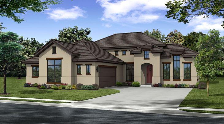 Texas Tudor Style:Aliso Texas Tudor by Ash Creek Homes