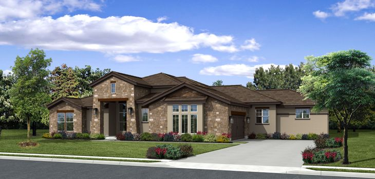 Carson Hill Country Elevation:Carson Hill Country by Ash Creek Homes