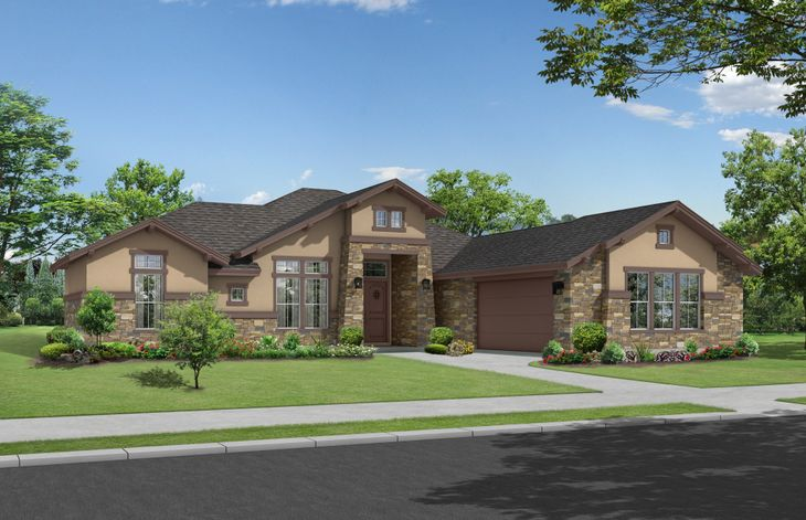Hudson Hill Country Elevation:Hudson Hill Country by Ash Creek Homes