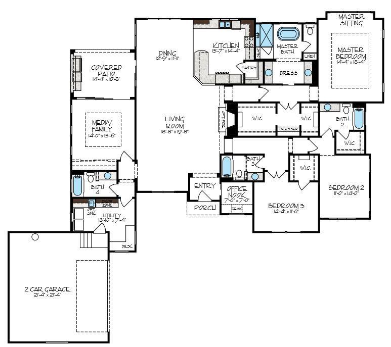 Trinity Floorplan