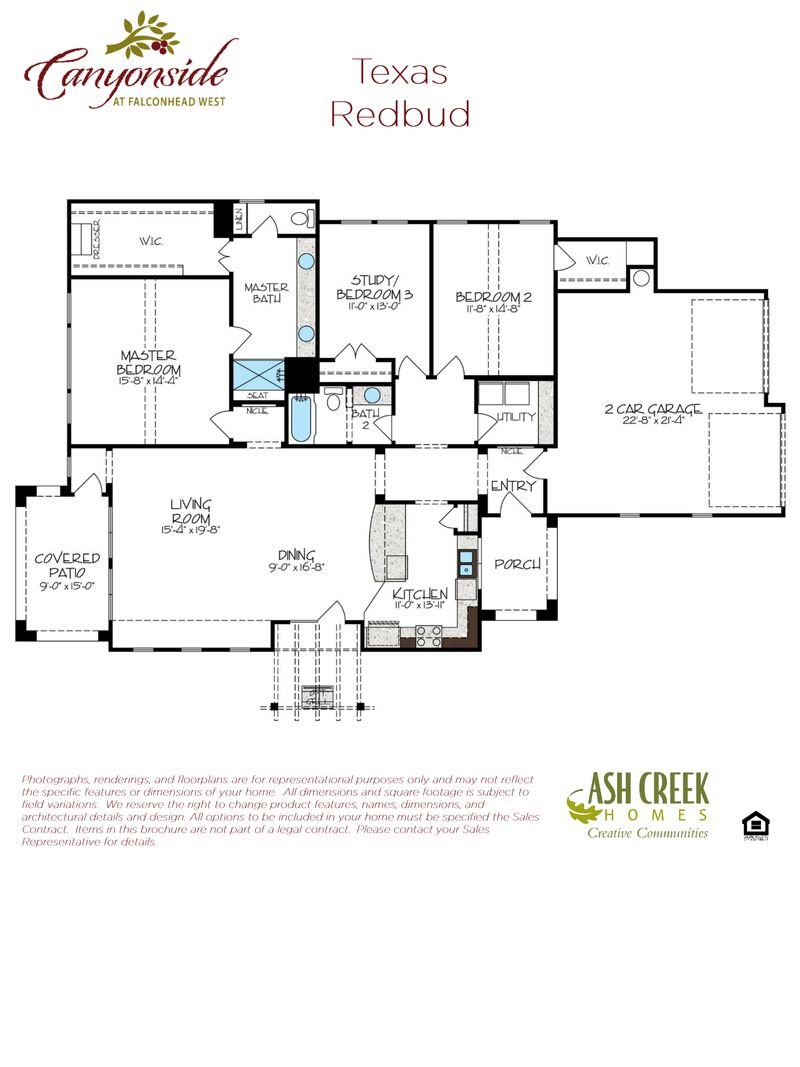 Texas Redbud Floorplan