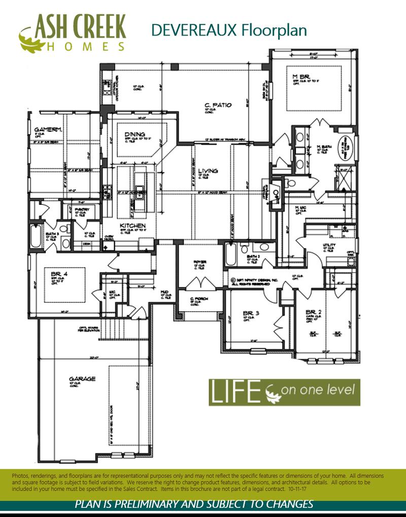 Devereaux Floorplan