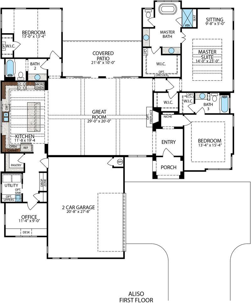Aliso Floor Plan