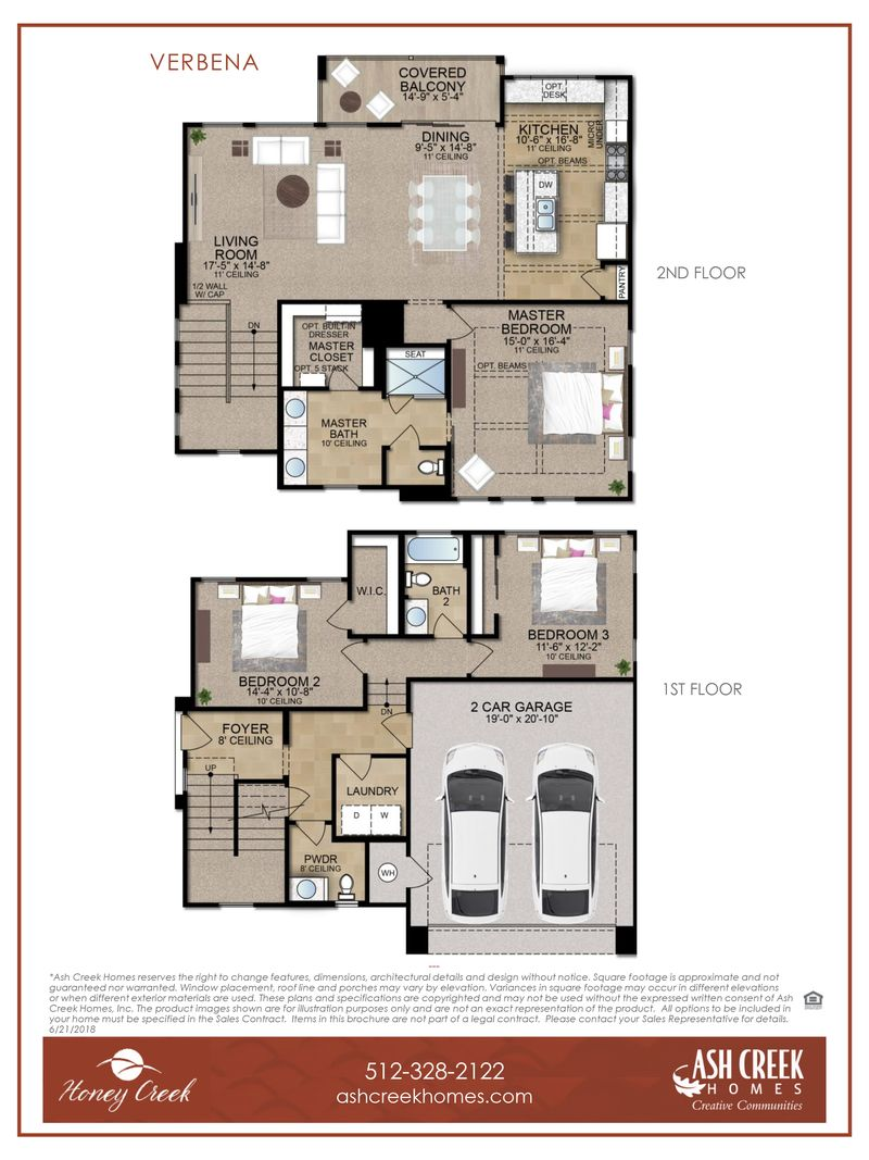 Verbena Floor Plan