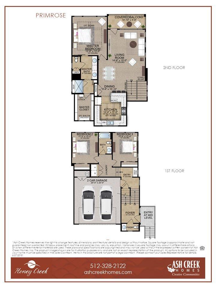 Primrose Floor Plan