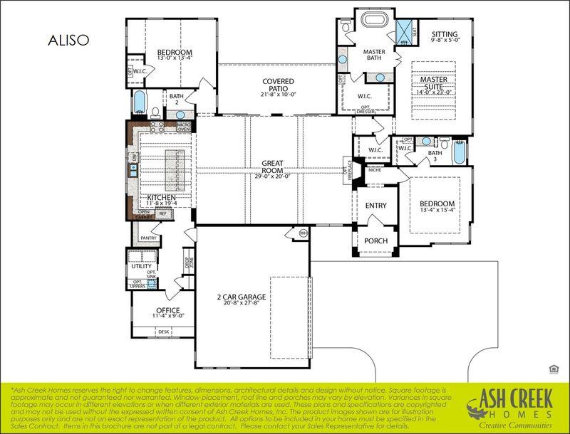 Aliso Floorplan