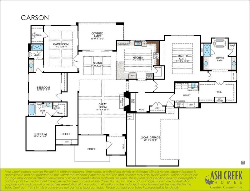 Carson Floorplan