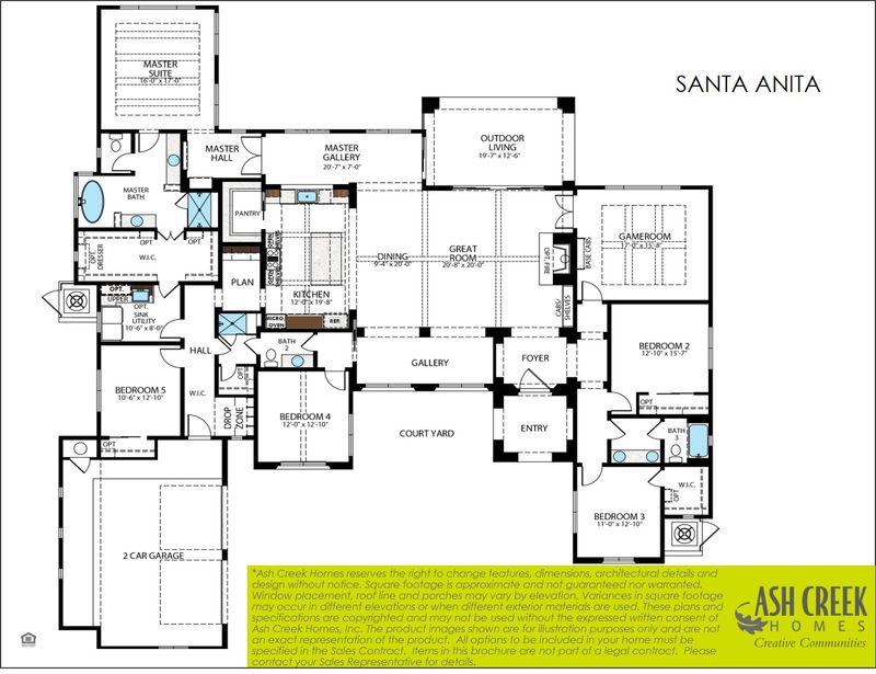 Santa Anita Floorplans