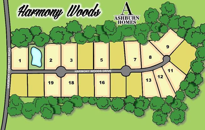 Harmony woods:Available Lots