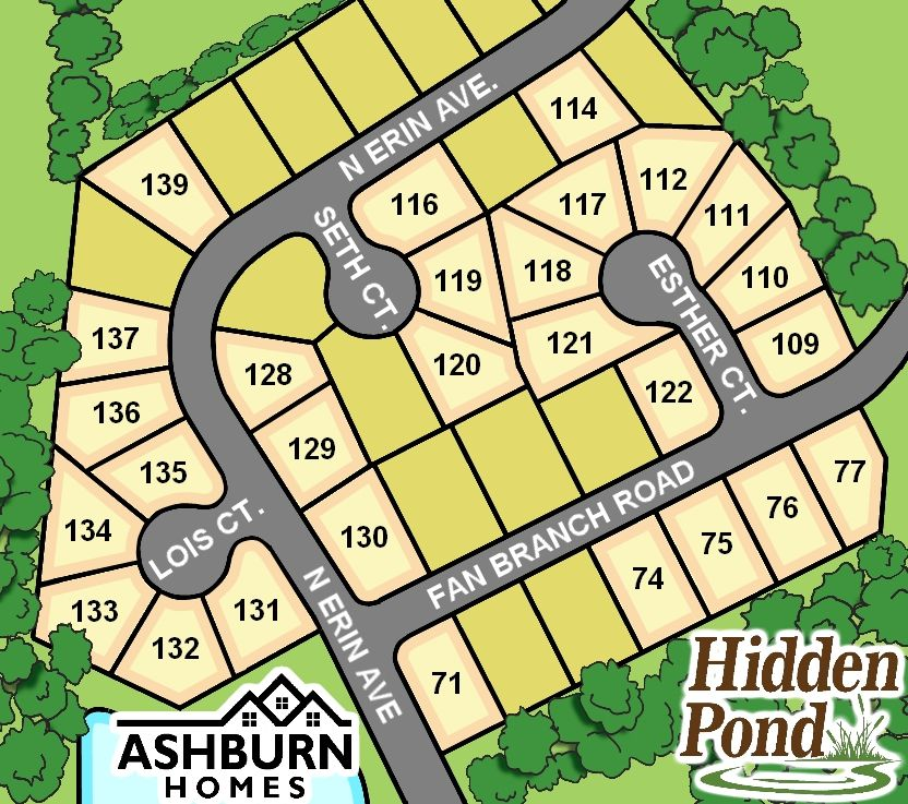 Hidden Pond Development