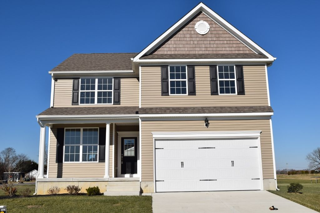 Exterior featured in The Wyoming By Ashburn Homes in Dover, DE