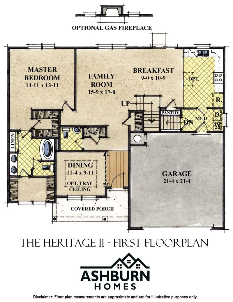 Heritage II First Floor