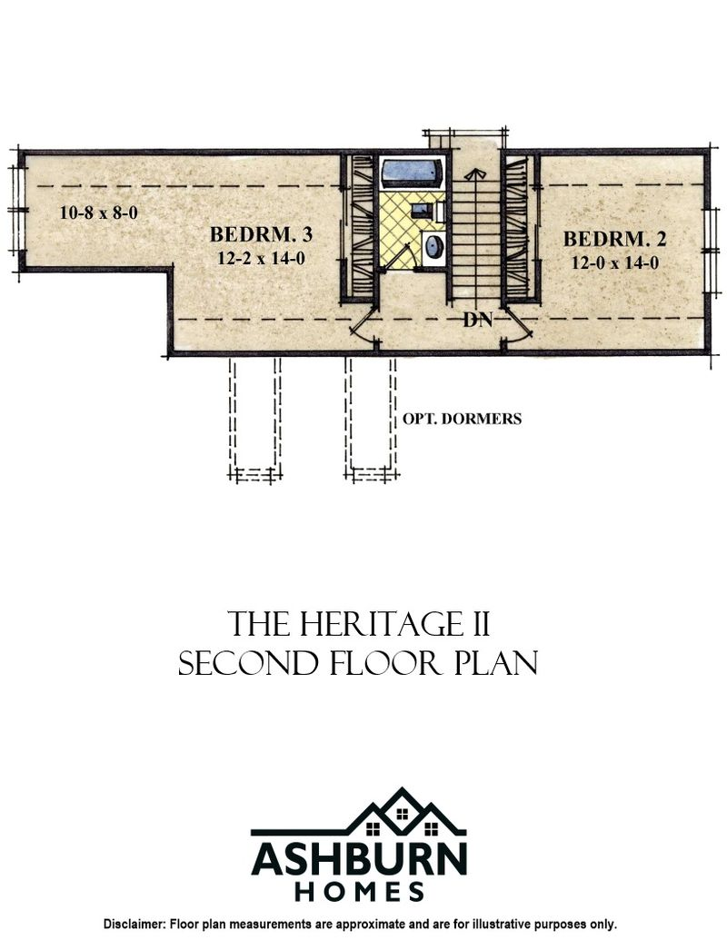 Heritage II Second Floor
