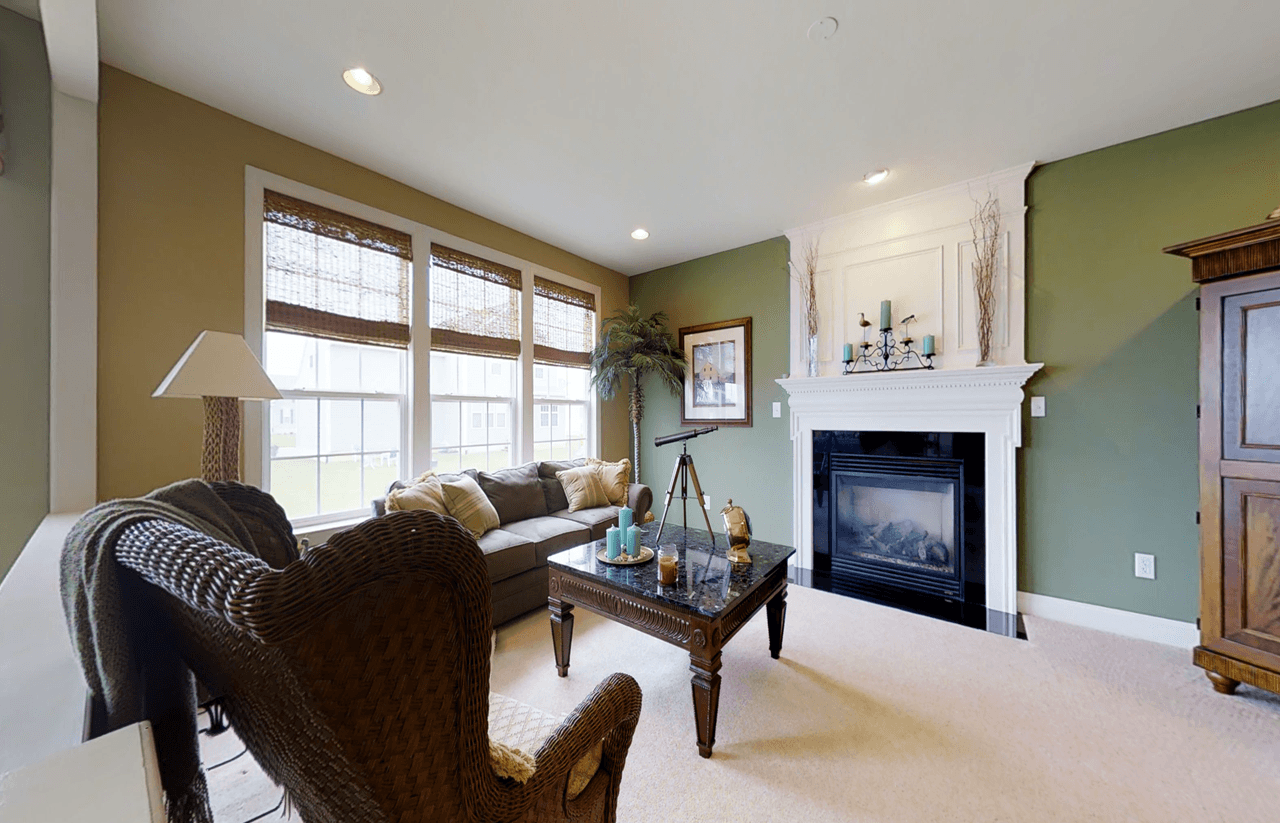 Living Area featured in The Hampshire By Ashburn Homes in Sussex, DE