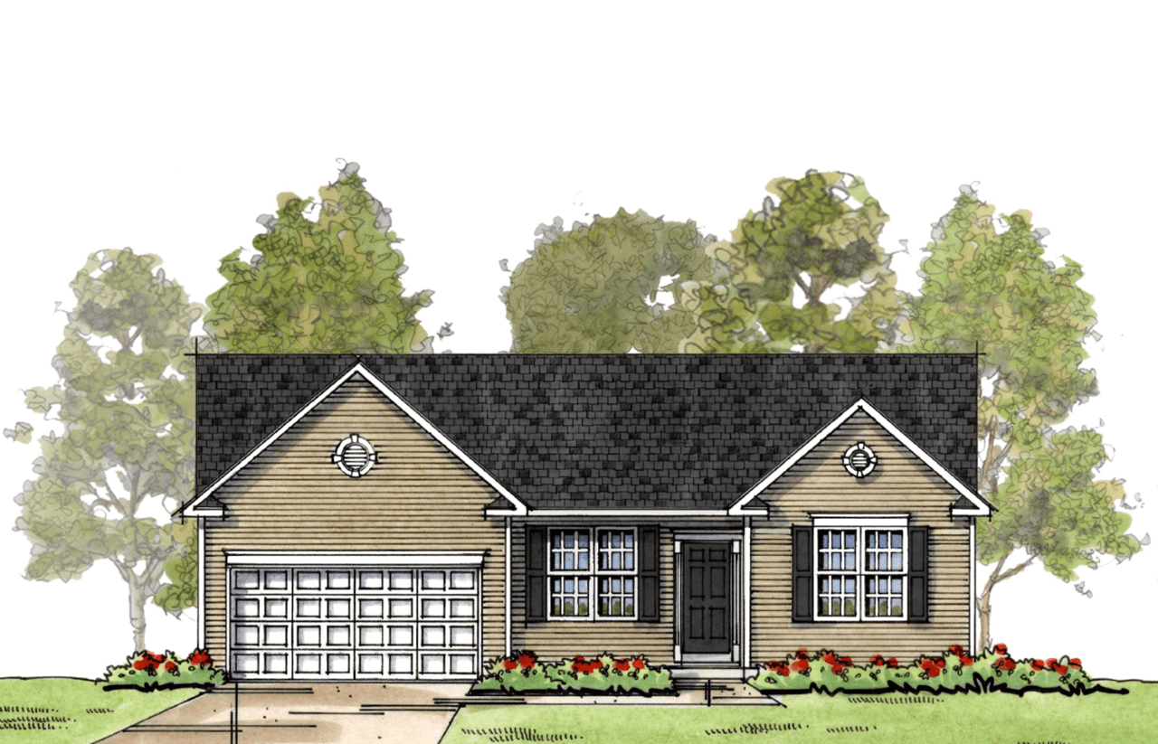 Exterior featured in The Lewes By Ashburn Homes in Dover, DE