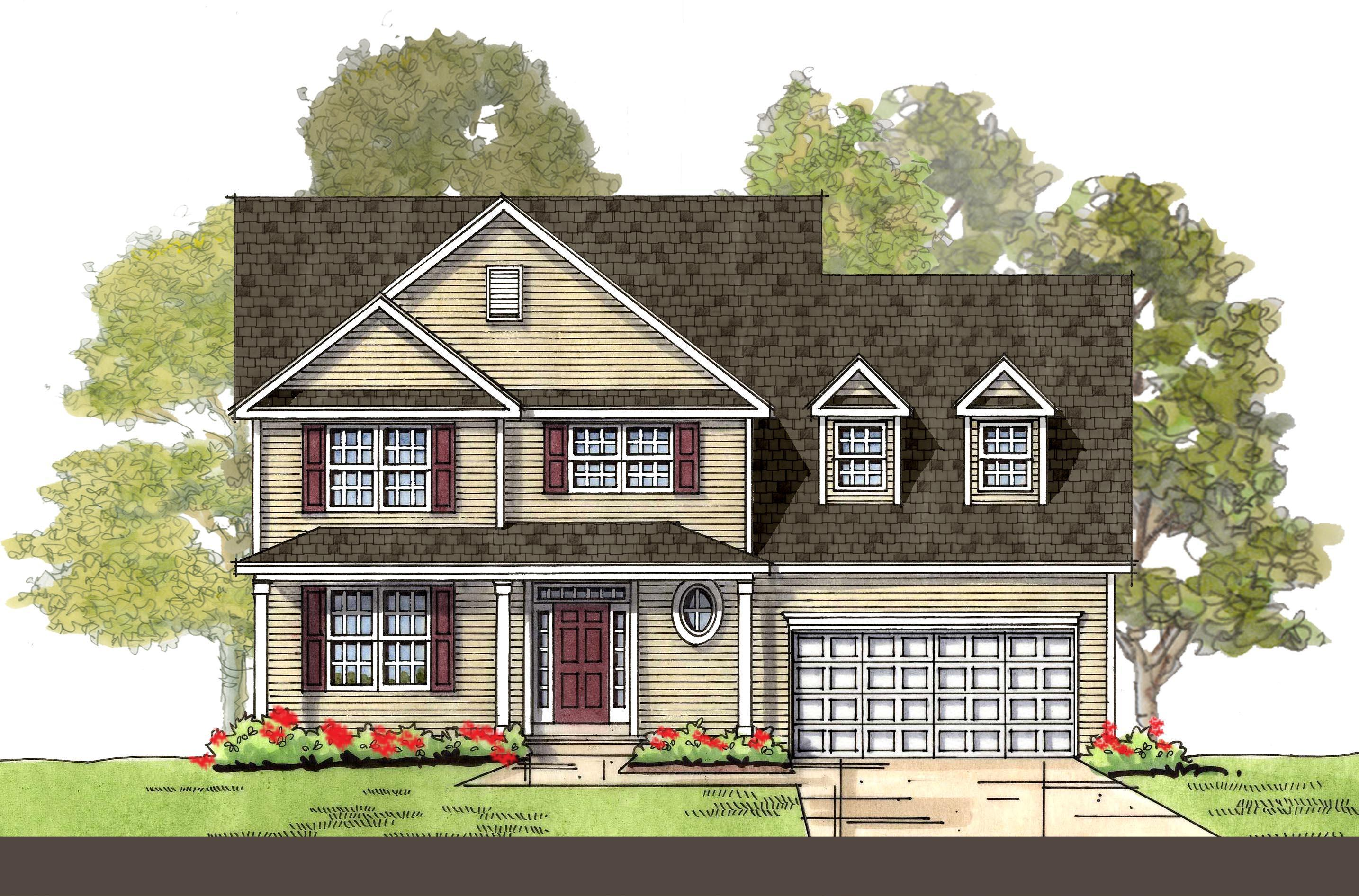 Exterior featured in The Rehoboth By Ashburn Homes in Sussex, DE