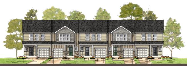 218 Tea Party Trail (Townhomes - Exterior)