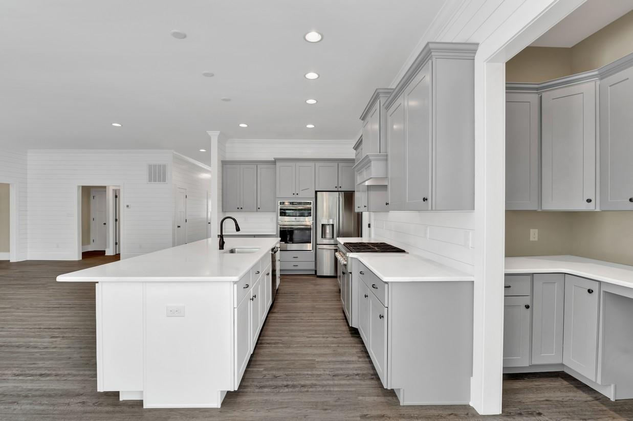Kitchen featured in The Ocean View By Ashburn Homes in Sussex, DE