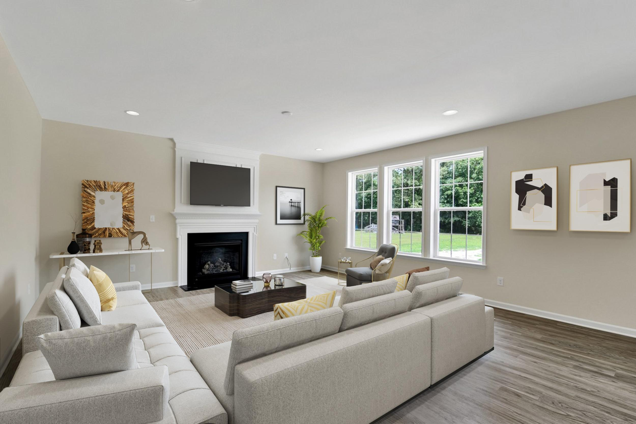 Living Area featured in The Millsboro By Ashburn Homes in Sussex, DE