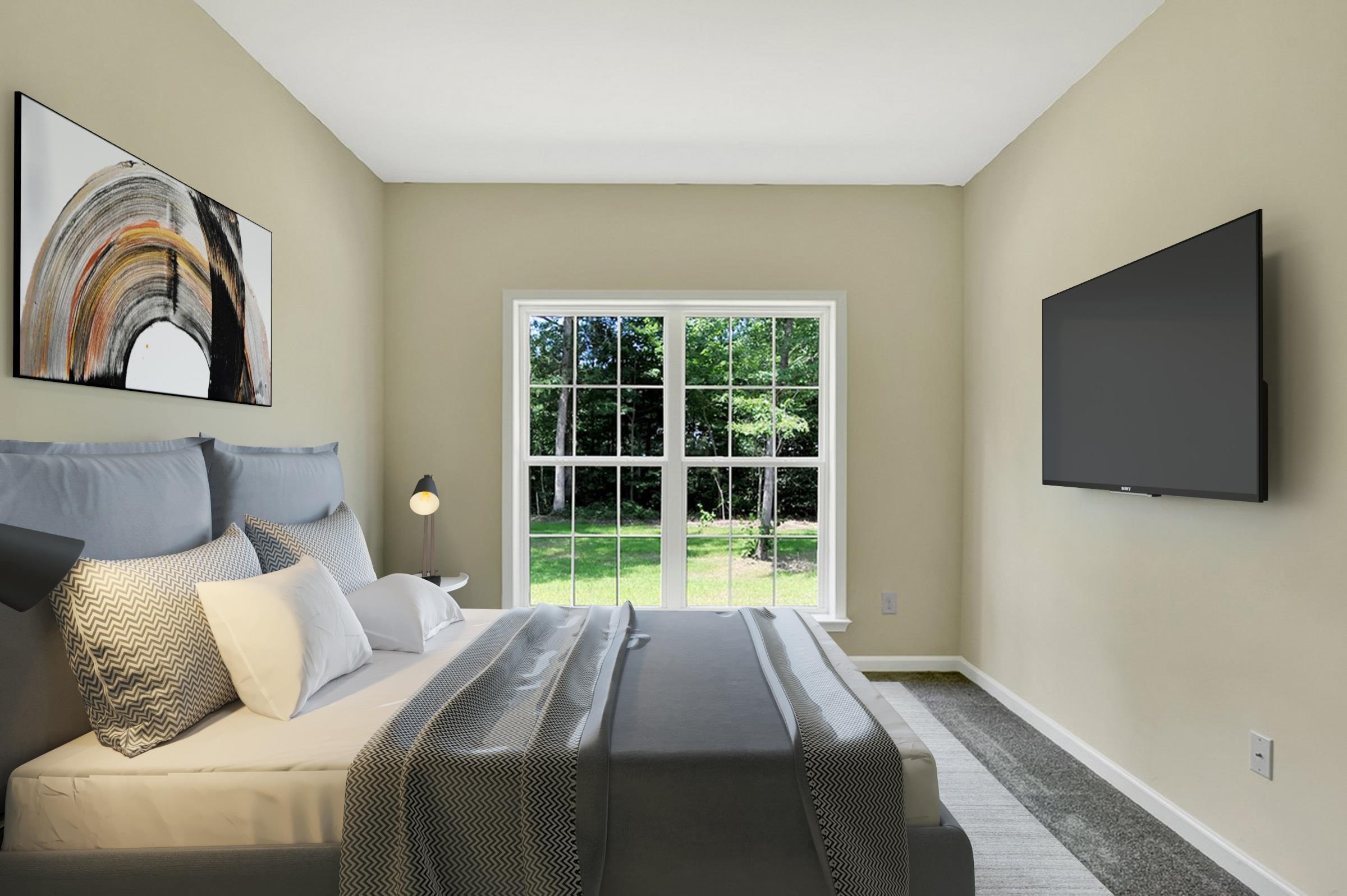 Bedroom featured in The Fenwick By Ashburn Homes in Sussex, DE