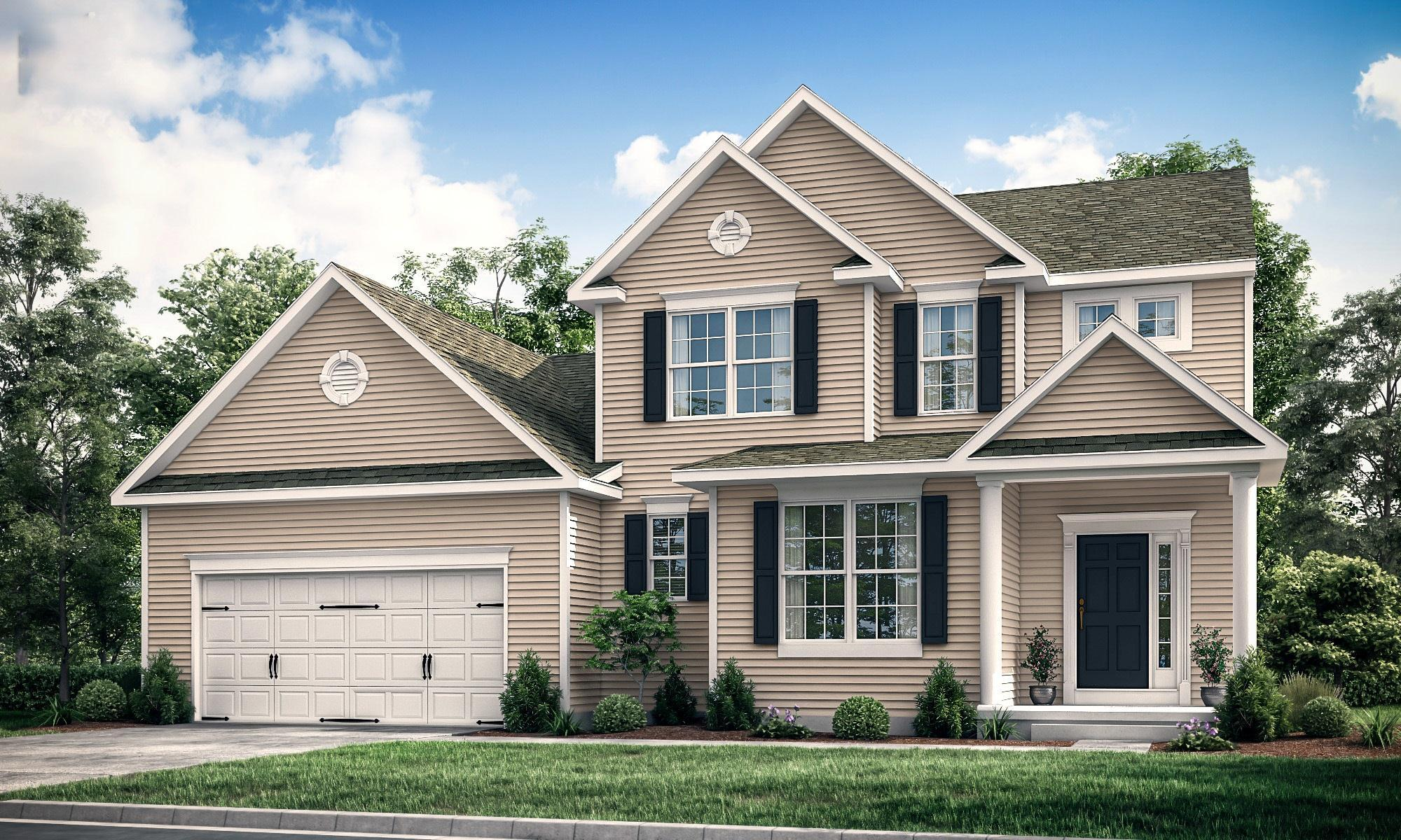 Exterior featured in The Georgetown By Ashburn Homes in Sussex, DE